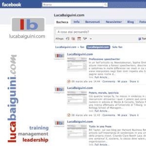 lucabaiguini.com su Facebook